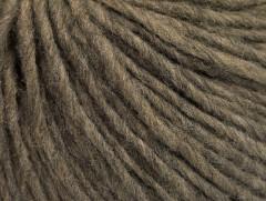 Vlna cord aran - tmavě velbloudí