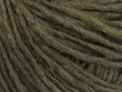 Vlna cord aran - tmavě zelená 1