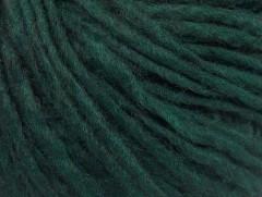 Vlna cord aran - tmavě zelená 2