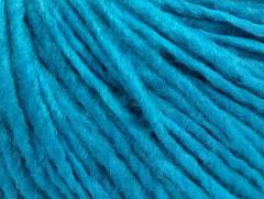 Vlna cord aran - tyrkysová 1