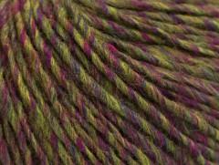 Vlna cord aran - zelenopurpurovomodrá