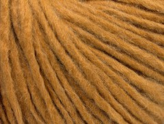Vlna cord aran - zlatá 3