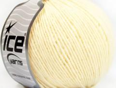 Vlna Cord light - citronově žlutá