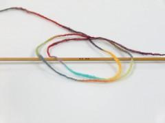 Vlna Cord light - duhová