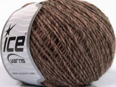 Vlna Cord light - hnědé odstíny