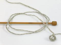 Vlna Cord light - khakišedé odstíny