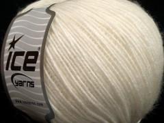 Vlna Cord light - přírodní bílá
