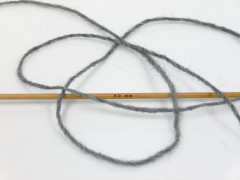 Vlna Cord light - šedá melánž