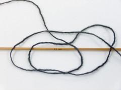 Vlna cord sport - antracitově černá