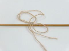 Vlna cord sport - bílá káva 1