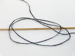 Vlna cord sport - černá 6