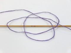 Vlna cord sport - fialová