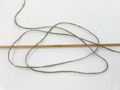 Vlna cord sport - hnědá