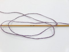 Vlna cord sport - levandulová