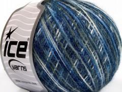 Vlna cord sport - modré odstíny