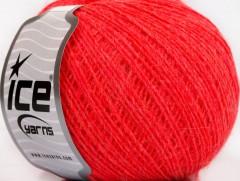 Vlna cord sport - neonově červená 1