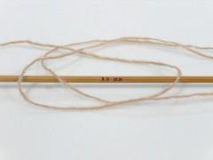 Vlna cord sport - světle hnědá 2