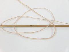 Vlna cord sport - tmavě béžová