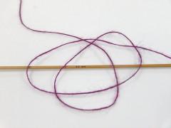 Vlna cord sport - tmavě fuchsiová 1