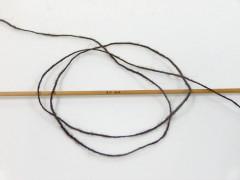Vlna cord sport - tmavě hnědá 3