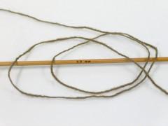 Vlna cord sport - tmavě khaki 1