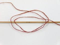 Vlna cord sport - tmavě měděná