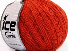 Vlna cord sport - tmavě oranžová 1