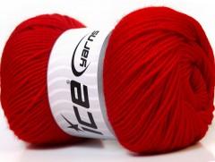 Vlna de luxe - červená