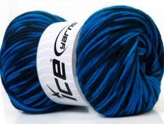 Vlna de luxe - modré odstíny