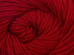 Vlna de luxe - tmavě červená