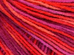 Vlna DK color - růžovolososovopurpurová