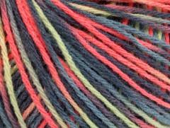 Vlna DK color - šedolososovomátová