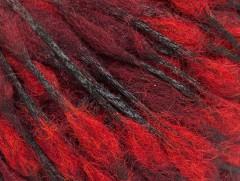 Vlna drops - červenokaštanová