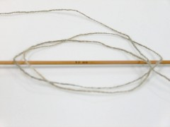 Vlna fajn 30 - khaki melánž 1
