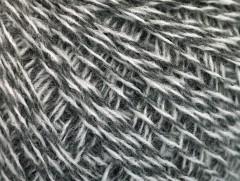 Vlna fajn 30 - šedobílá