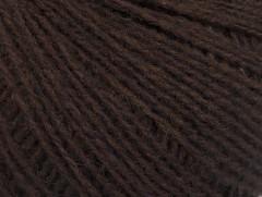 Vlna fajn 30 - tmavě hnědá 3