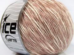 Zucchero bavlna - světlerůžovokrémová